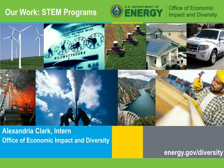 Our work stem programs