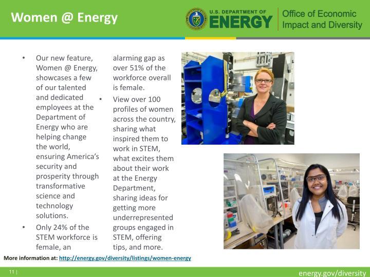 Women @ Energy