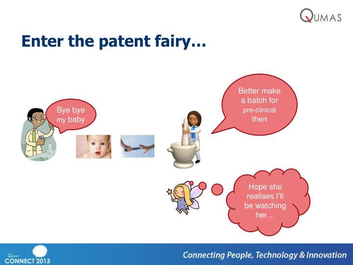 Enter the patent fairy…