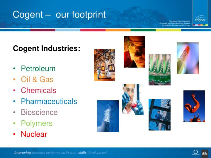 Cogent –  our footprint