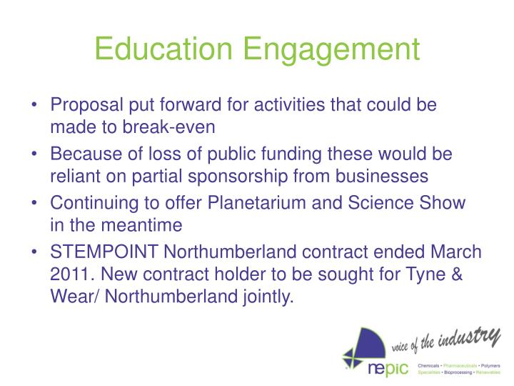 Education Engagement