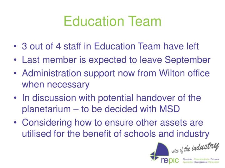 Education Team