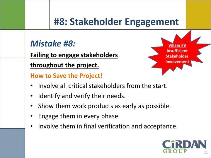 #8: Stakeholder