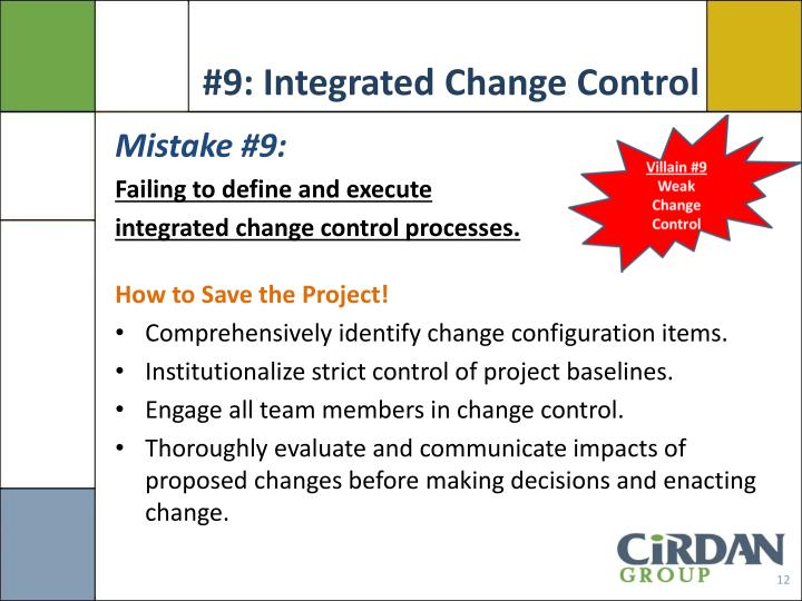 #9: Integrated Change