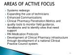 areas of active focus1