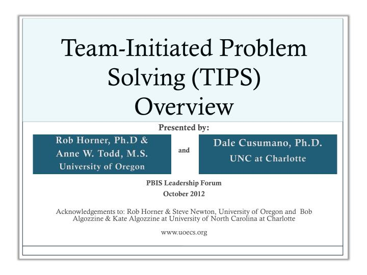 Problem Solving Powerpoint