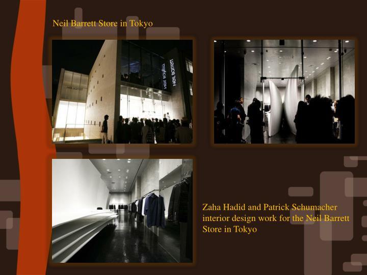 Neil Barrett Store in Tokyo