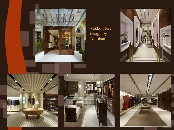 Vakko Store design by Autoban