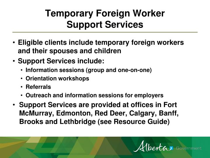 Temporary Foreign Worker