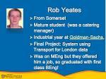 rob yeates