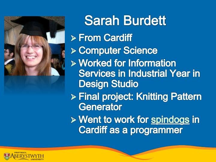 Sarah Burdett