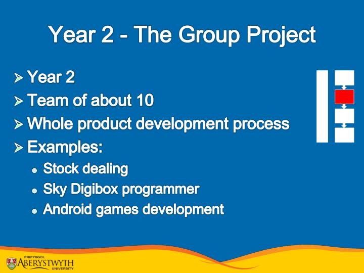 Year 2 - The Group Project