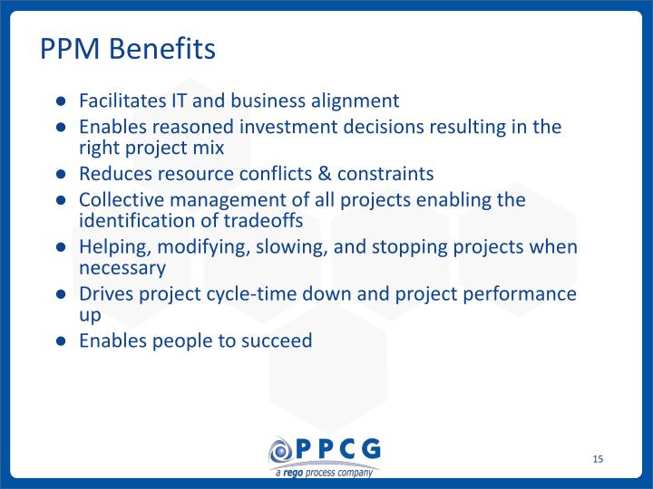 PPM Benefits