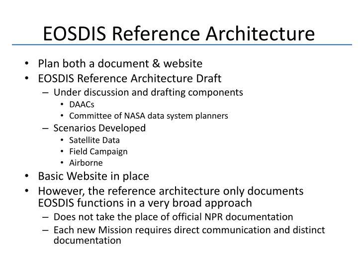 EOSDIS Reference Architecture