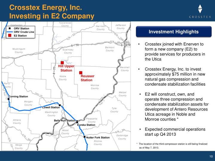 Crosstex Energy, Inc.
