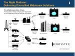 the right platform delivering diversified midstream solutions