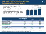 the right time to invest in crosstex forecasting significant growth