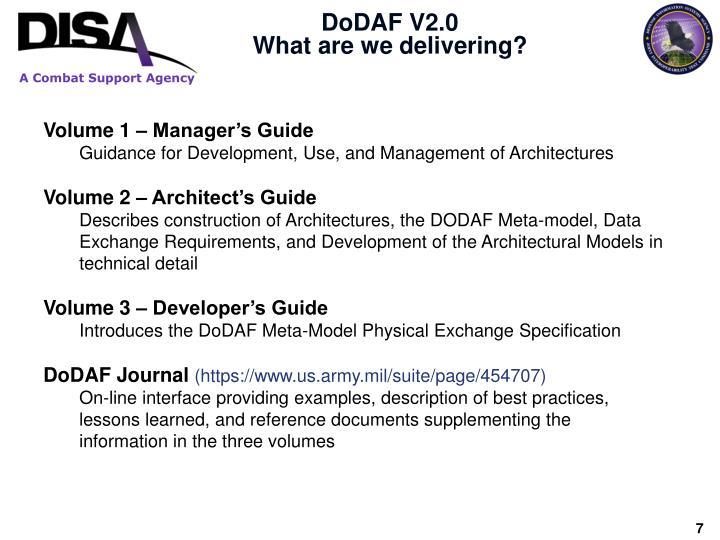 DoDAF V2.0