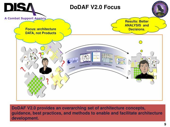 DoDAF V2.0 Focus
