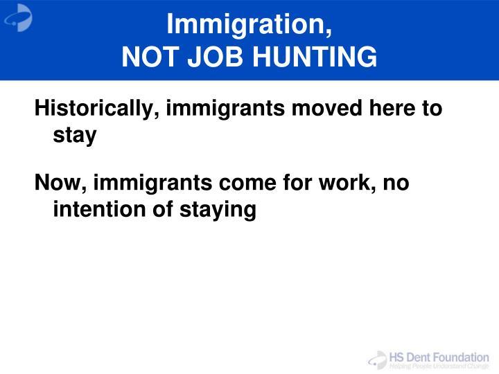 Immigration,