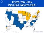 united van lines migration patterns 2009