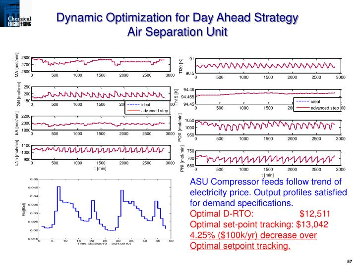 Dynamic Optimization for Day Ahead Strategy