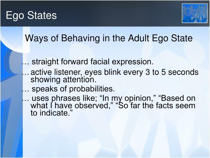 Ego States