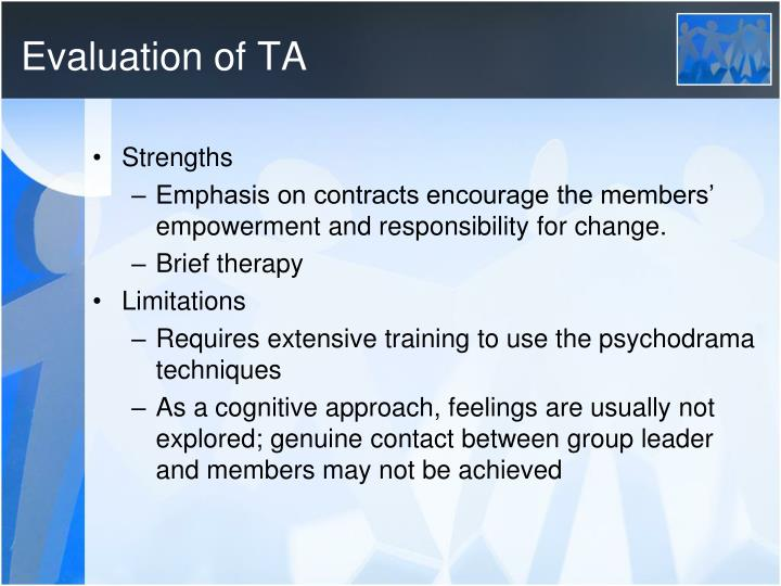 Evaluation of TA