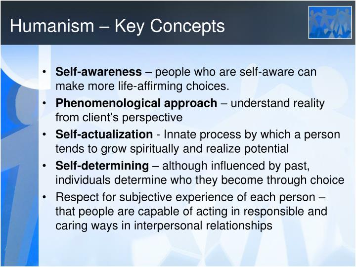 Humanism – Key Concepts