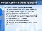 person centered group approach1