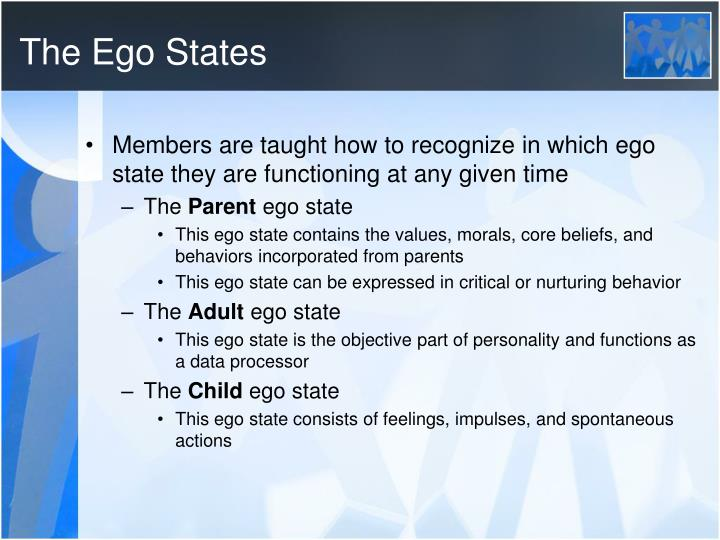 The Ego States