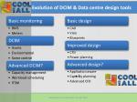 evolution of dcim data centre design tools