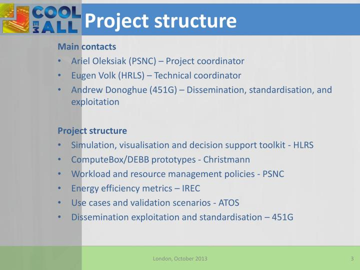 Project structure