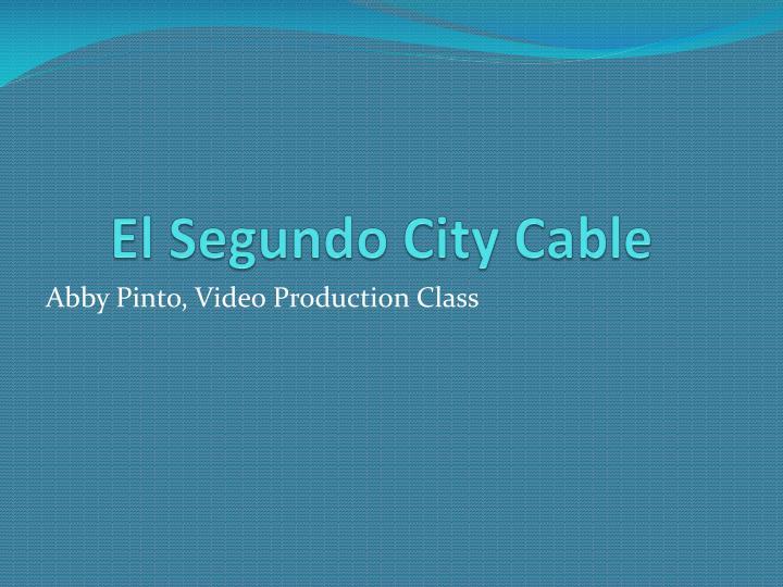 El Segundo City Cable