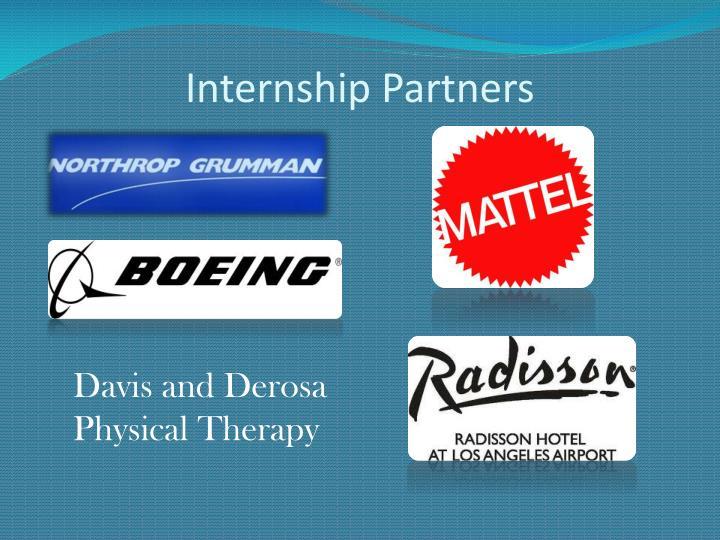Internship Partners