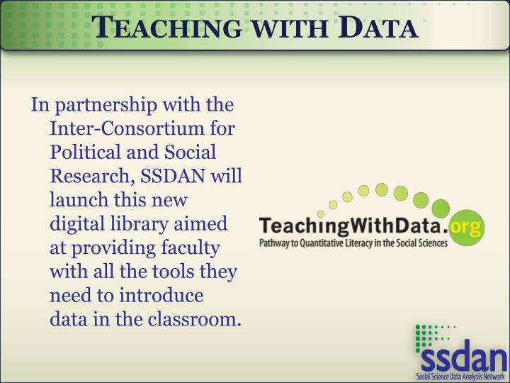 Teaching with Data