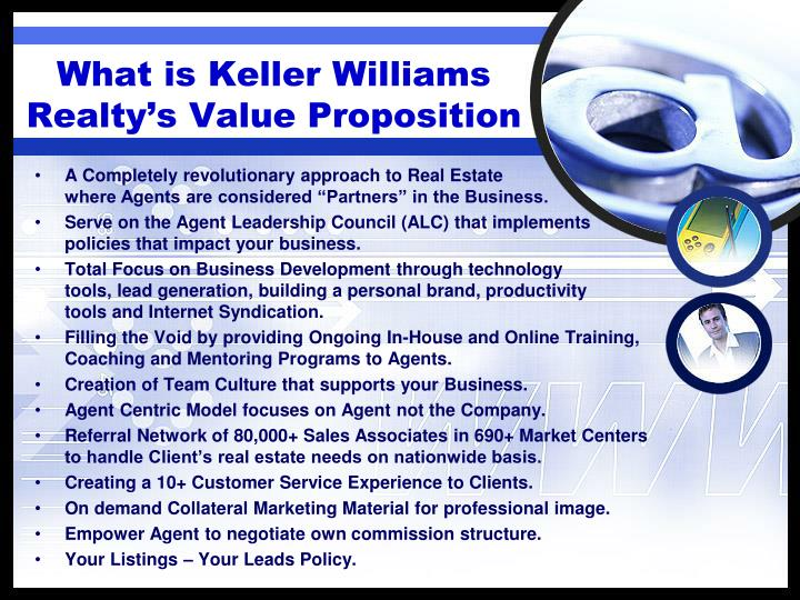 What is Keller Williams Realty's Value Proposition