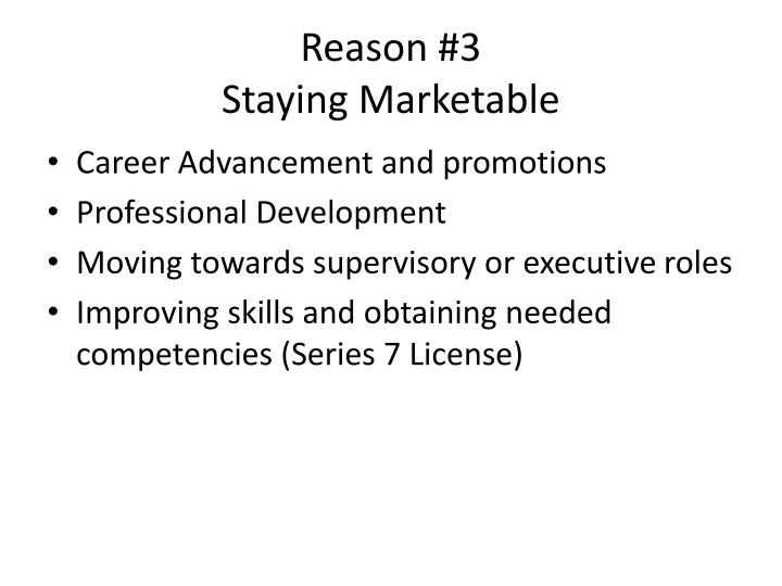 Reason #3