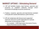 market uptake stimulating demand2