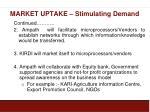 market uptake stimulating demand3