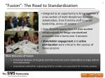 fuzion the road to standardization