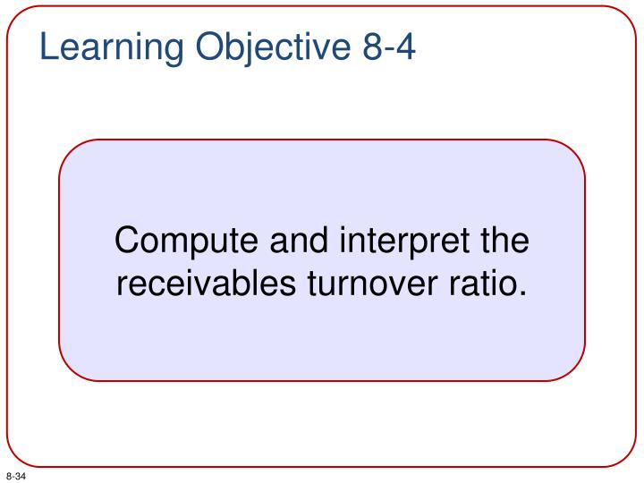 Learning Objective 8-4