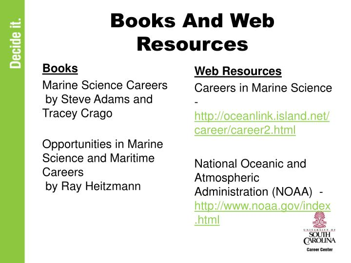 Books And Web Resources
