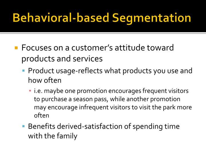 Behavioral-based Segmentation