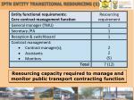 iptn entity transitional resourcing 1