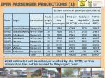iptn passenger projections 1