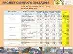 project cashflow 2013 2014