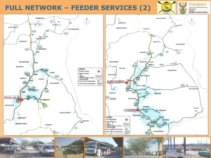 FULL NETWORK – FEEDER SERVICES (2)
