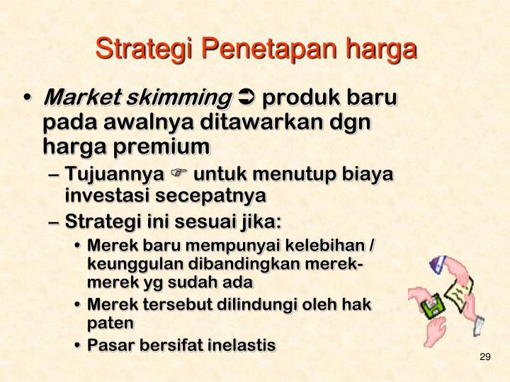 Strategi Penetapan harga
