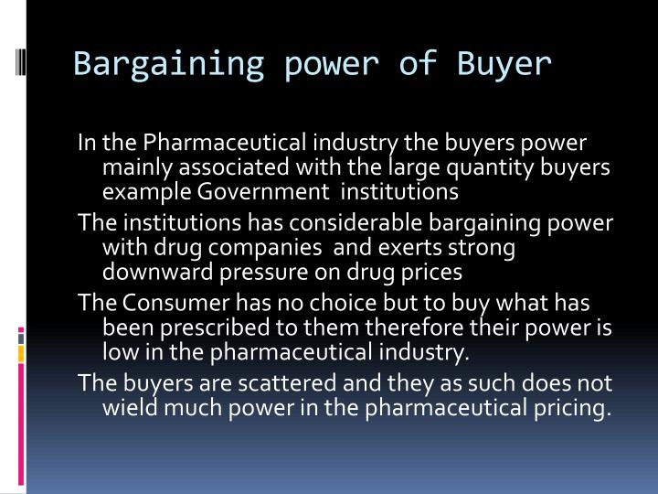 bargaining power of buyers in nike Relative to the number of firms in the industry there are a large number of buyers in the market with high bargaining power therefore in order to increase sales and market share, firms need to continuously market their product and differentiate their brands against competitors.